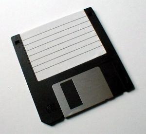 1 floppy disk